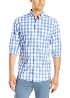 Jack Spade Men's Sheppard Trapunto Large Gingham Collar Shirt