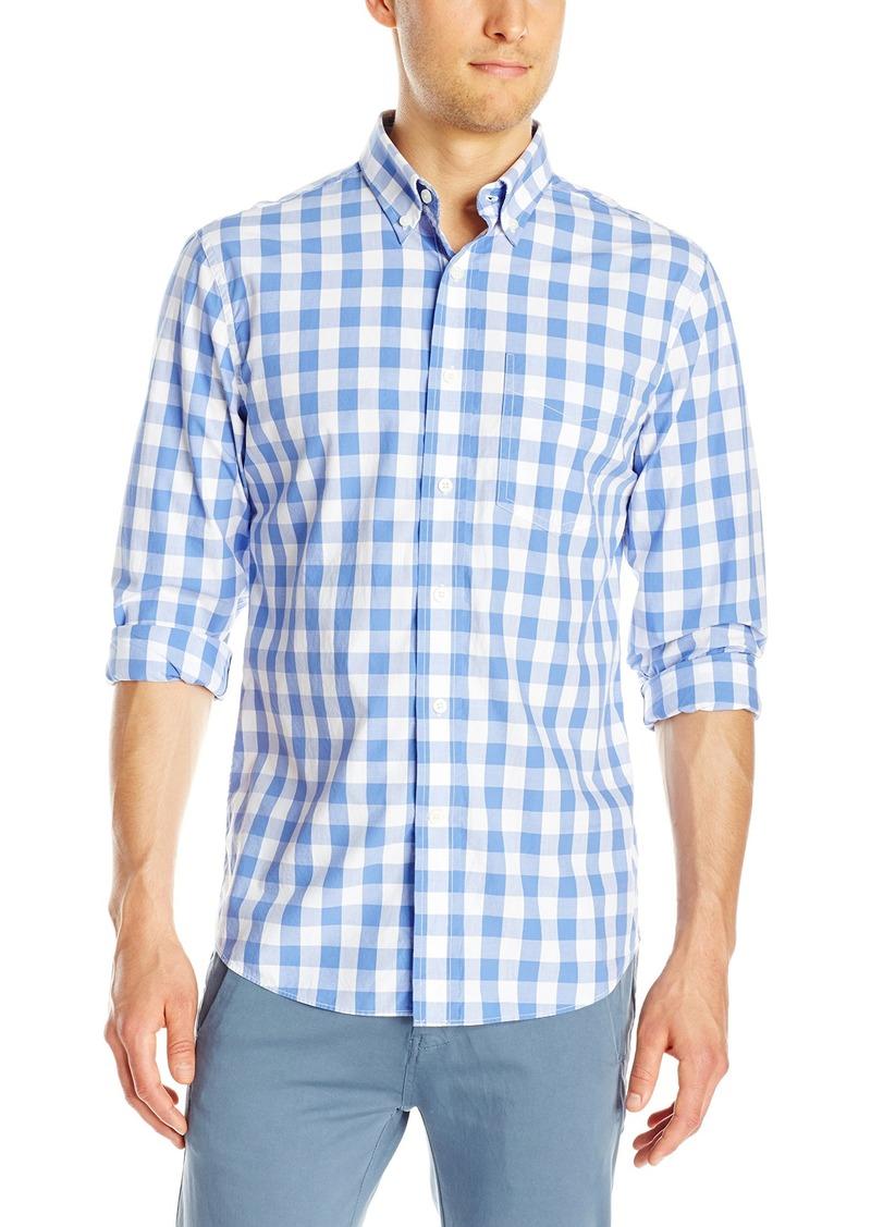 Jack Spade Men's Sheppard Trapunto Large Gingham Collar Shirt
