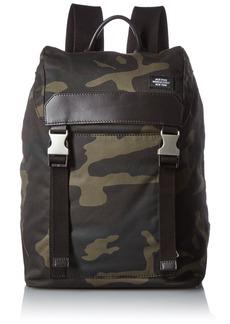 Jack Spade Men's Waxwear Army Backpack