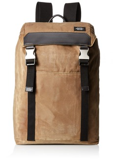 Jack Spade Men's Waxwear Army Backpack