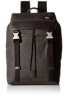 Jack Spade Men's Waxwear Army Backpack Messenger Bags