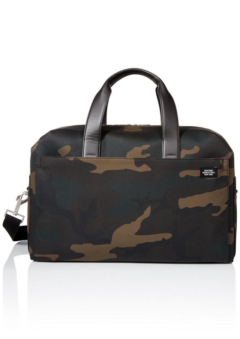 bb9adcdb15ff Jack Spade Jack Spade Men s Waxwear Overnight Bag