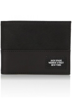 Jack Spade Men's Waxwear Slim Billfold Wallet