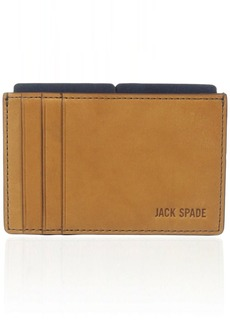 Jack Spade Mitchell Leather File Wallet Cell Phone Wallet