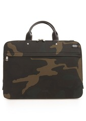 Jack Spade Waterproof Waxed Cotton Briefcase