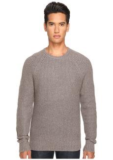 Jack Spade Shaker Stitch Ribbed Crew Neck Sweater