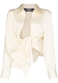 Jacquemus Bahia long-sleeve shirt