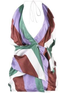 Jacquemus Benaco striped top