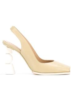 Jacquemus block heel pumps
