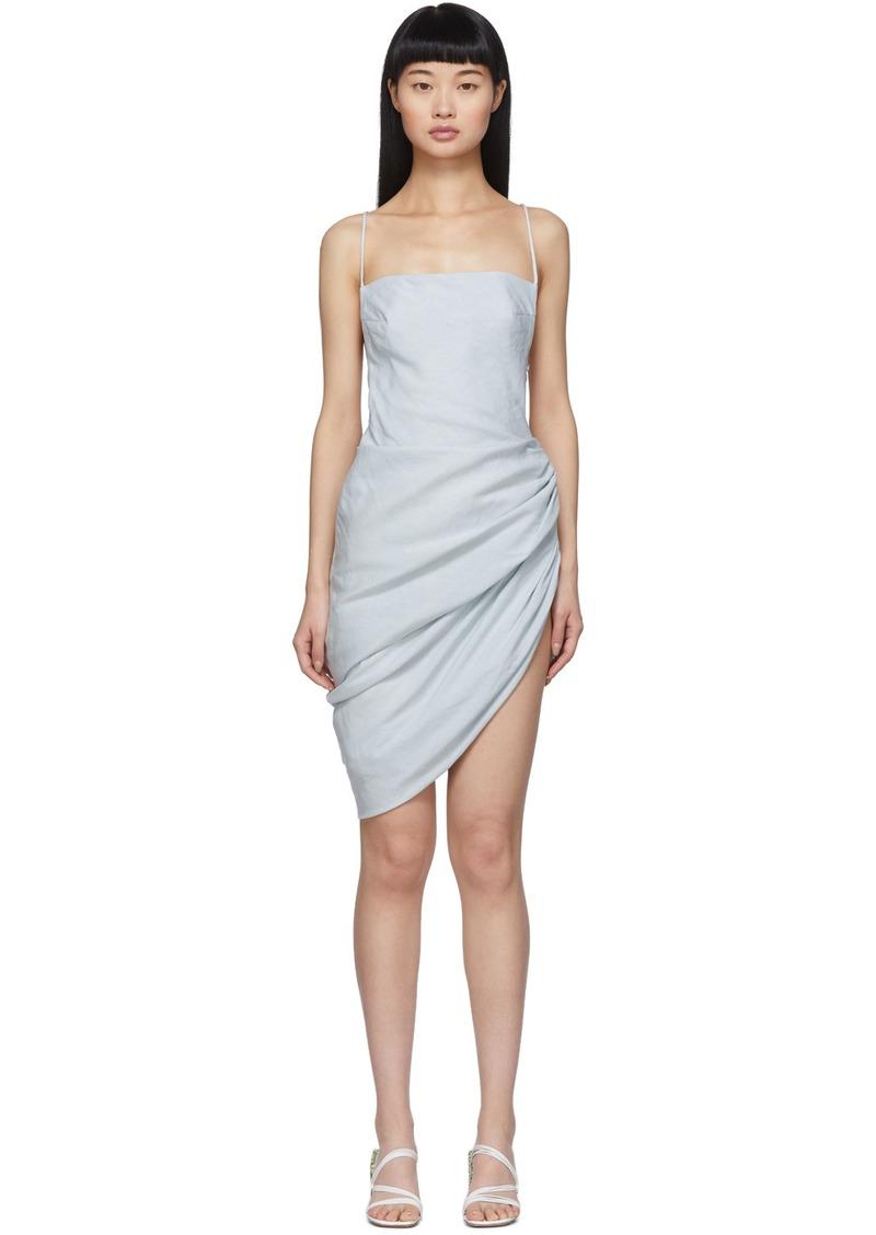 Jacquemus Blue 'La Robe Saudade' Dress