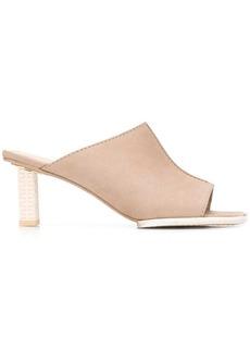 Jacquemus Carino 70mm square-toe mules