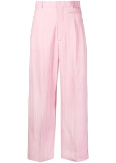 Jacquemus cropped high-waisted trousers