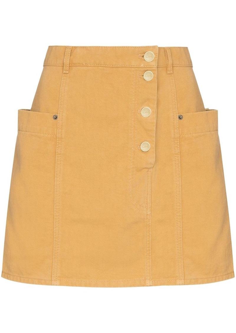 Jacquemus De Nimes mini skirt