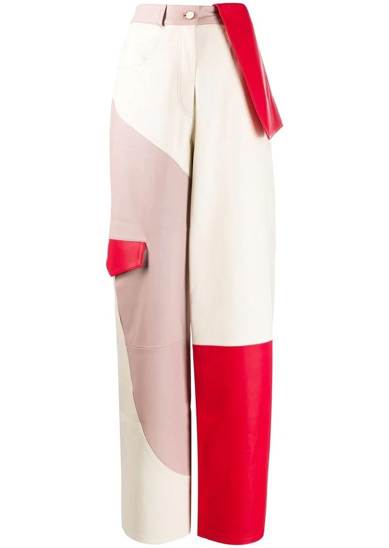 Jacquemus De Nîmes leather trousers