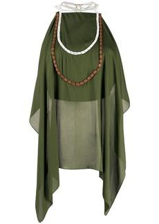 Jacquemus draped blouse
