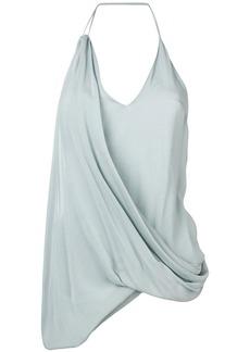 Jacquemus draped design top