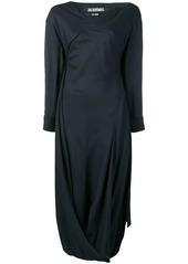 Jacquemus draped maxi dress