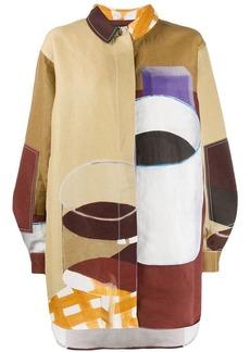 Jacquemus geometric print shirt