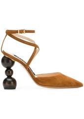 Jacquemus geometrical shape heel pumps