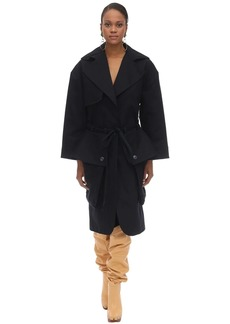 Jacquemus Heavy Cotton Canvas Trench Coat
