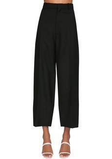 Jacquemus High Waist Gabardine Crop Pants