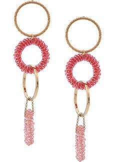 Jacquemus hoops pendant earrings