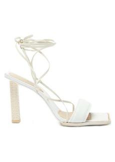 Jacquemus Adour Hautes wraparound leather sandals