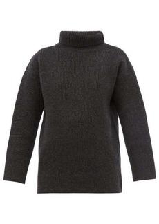 Jacquemus Agde roll-neck wool-blend sweater