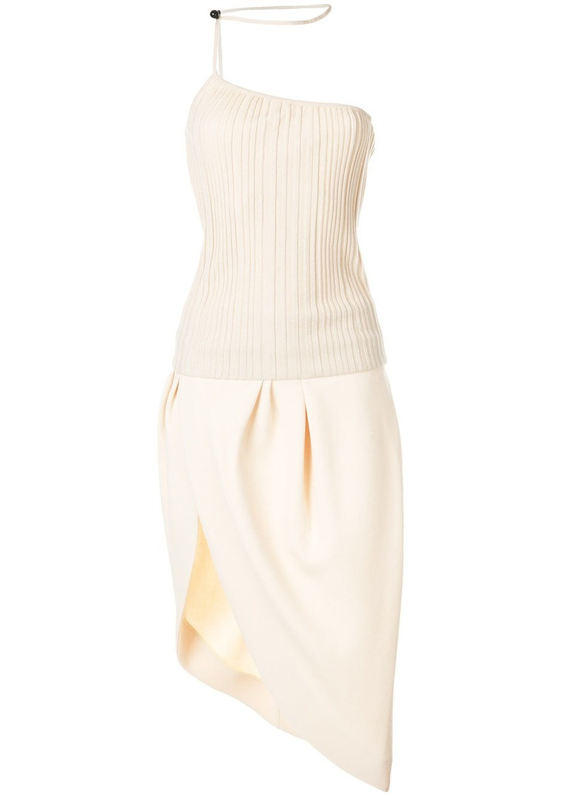 Jacquemus asymmetric midi dress