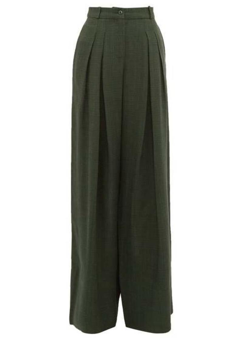 Jacquemus Avignon canvas wide-leg trousers