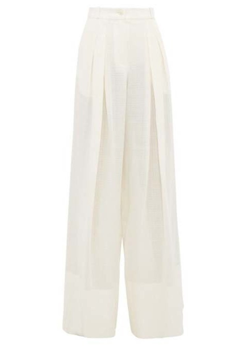 Jacquemus Avignon wide-leg trousers