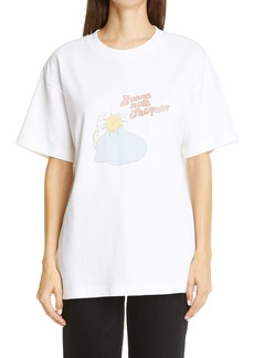 Jacquemus Bonne Nuit Jacques Graphic Cotton Tee