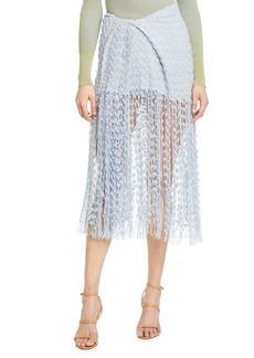 Jacquemus Capri Fringe Skirt