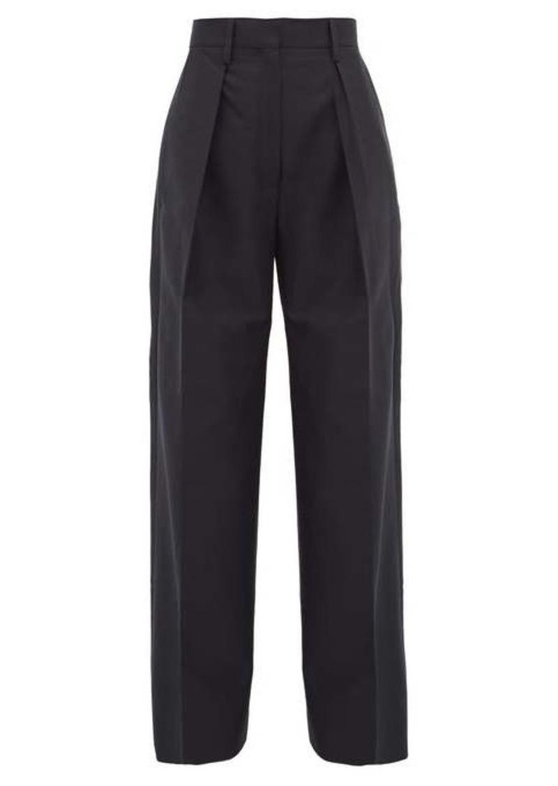 Jacquemus Carini cotton-blend wide-leg trousers