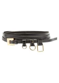 Jacquemus Ceinture Moisson ring-embellished leather belt