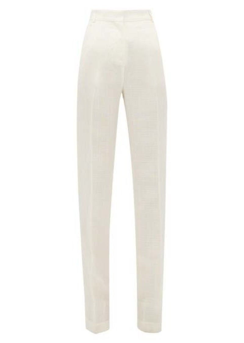 Jacquemus Charles tailored canvas bootcut trousers