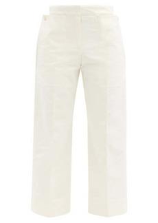 Jacquemus Esterel cropped cotton-canvas trousers