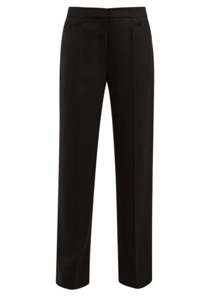Jacquemus High-rise slim-leg wool trousers