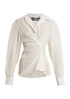 Jacquemus La Chemise Maceio cotton shirt