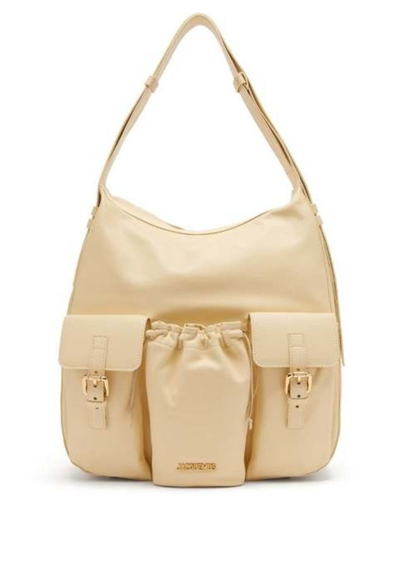 Jacquemus Le Iba leather shoulder bag