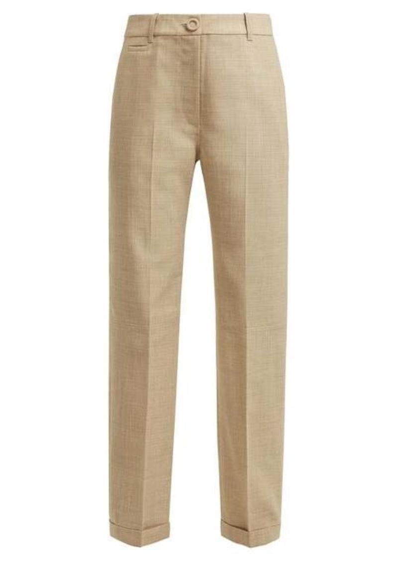Jacquemus Le Pantalon Carino high-rise cotton trousers