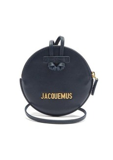Jacquemus Le Pitchou mini round leather bag