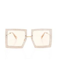 Jacquemus Les Carrees Oversized Square-Frame Acetate Sunglasses