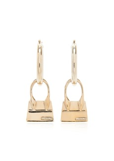 Jacquemus Los Creoles Chiquito Gold-Tone Hoop Earrings