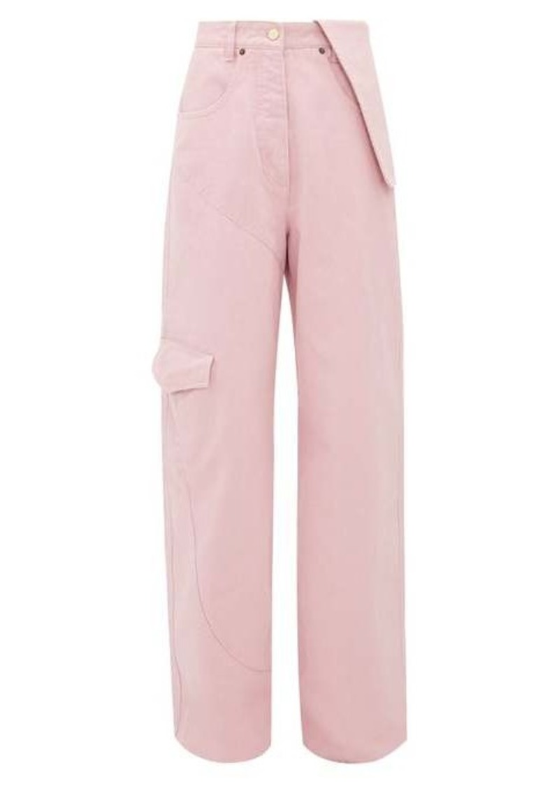 Jacquemus Nîmes cotton wide-leg jeans