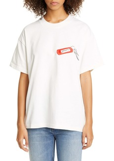 Jacquemus Oversize Embroidered Short Sleeve Tee