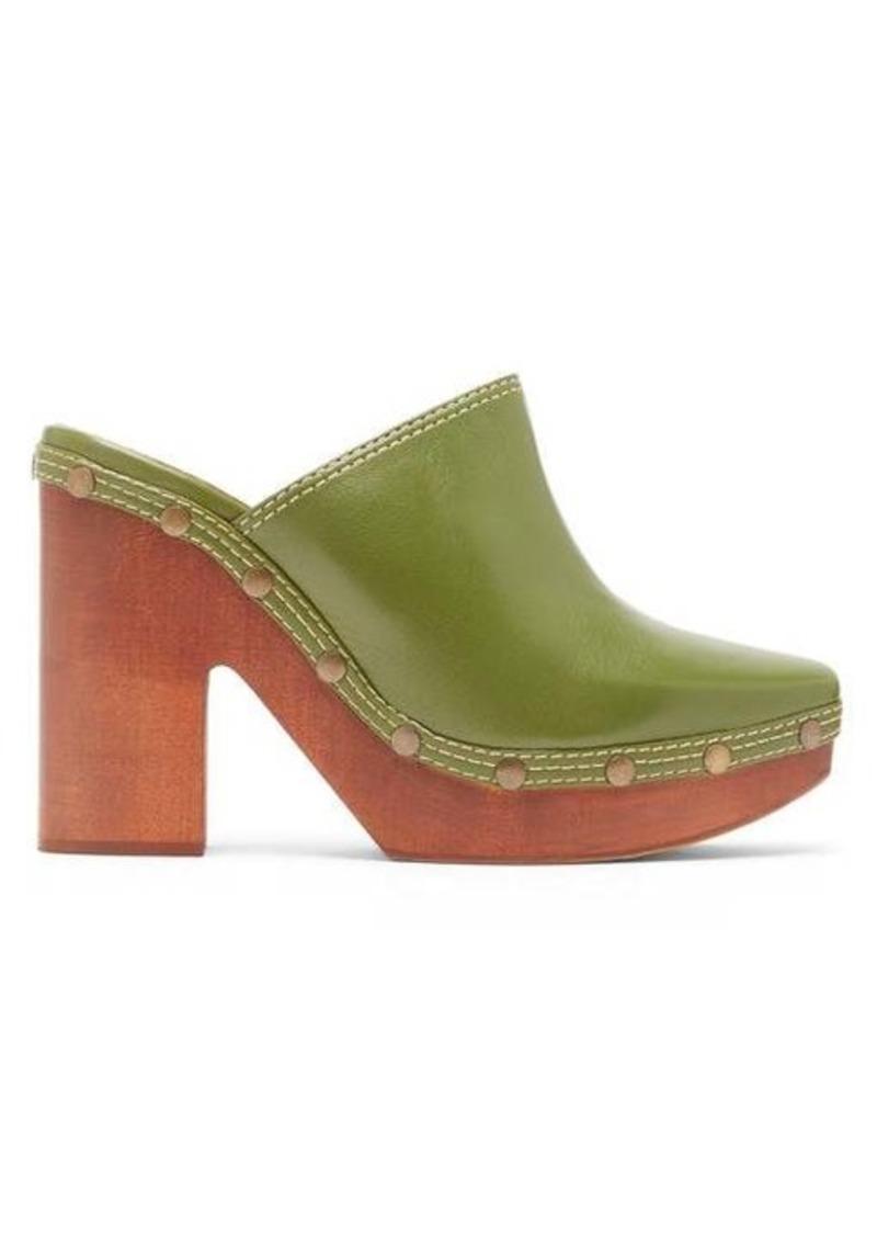 Jacquemus Sabots leather clog mules