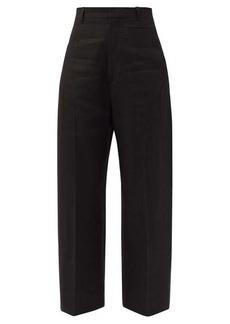Jacquemus Santon high-rise cropped wide-leg trousers