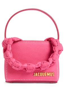 Jacquemus Small Noeud Braided Handle Bag
