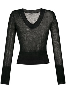 Jacquemus La Maille Dao knitted top